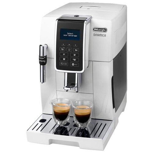Фото - Кофемашина De'Longhi Dinamica ECAM 350.35 белый кофемашина автоматическая de'longhi ecam 21 117 sb