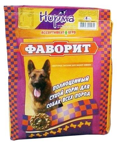 Корм для собак Фаворит Норма (4 кг)