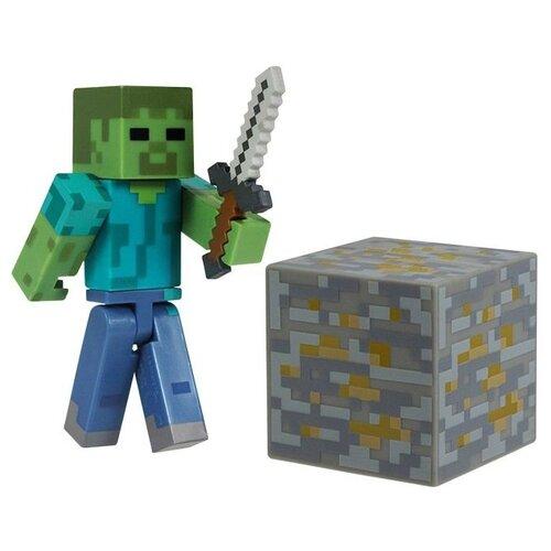 Купить Игровой набор Jazwares Minecraft Зомби 16509, Игровые наборы и фигурки