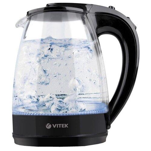 Чайник VITEK VT-1122, черный чайник электрический vitek vt 1122 tr