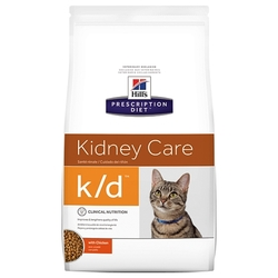 Корм для кошек Hill's Prescription Diet K/D Feline Kidney Care