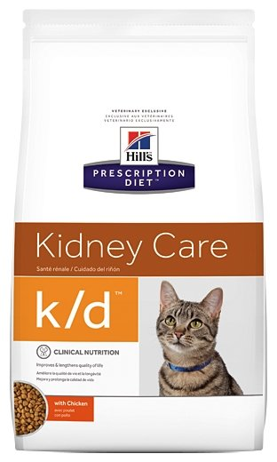Hill's Prescription Diet (1.5 кг) K/D Feline Kidney Care