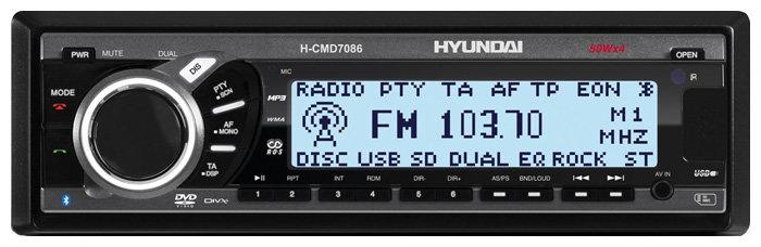 Автомагнитола Hyundai H-CMD7086 (2009)