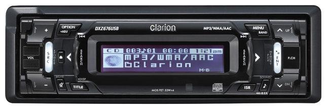 Автомагнитола Clarion DXZ676USB