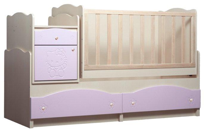 Кроватка Вальтер Kiddy 5 в 1 (трансформер)