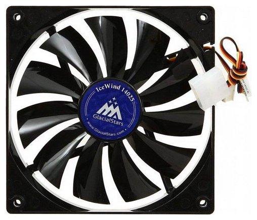 GlacialTech Система охлаждения для корпуса GlacialTech IceWind 14025