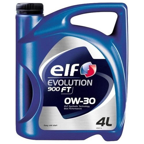 Фото - Моторное масло ELF Evolution 900 FT 0W-30 4 л масло моторное синтетическое 5w40 elf evolution 900 excellium nf 4 л
