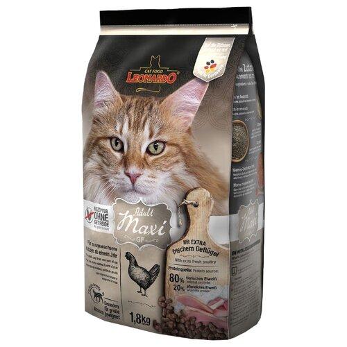 Корм для кошек Leonardo Adult GF Maxi (1.8 кг)Корма для кошек<br>