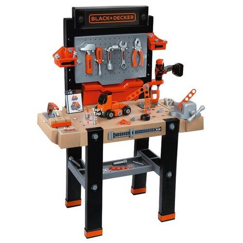Купить Smoby Мастерская Ultimate Black&Decker (360702), Детские наборы инструментов