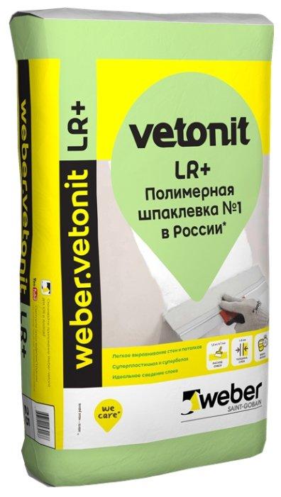 Шпатлевка Ветонит ЛР+ (25 кг)