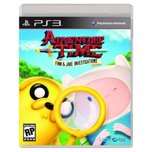 Игра для PlayStation 3 Adventure Time: Finn and Jake Investigations поло print bar adventure jake