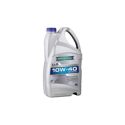 Моторное масло Ravenol LLO SAE 10W-40 4 л моторное масло ravenol euro iv truck sae 10w 40 5 л