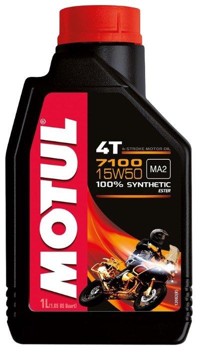 Моторное масло Motul 7100 4T 15W50 1 л