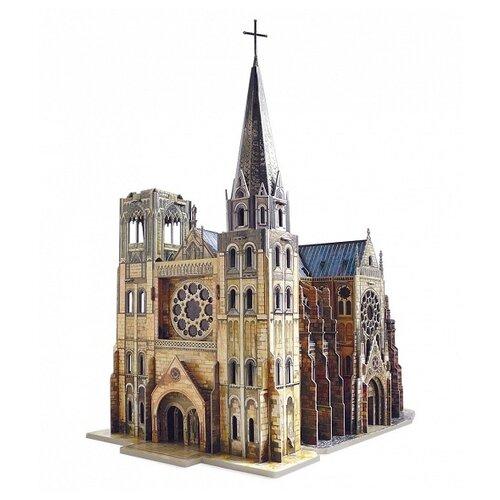 Купить Сборная модель Умная Бумага Готический собор (255), Сборные модели
