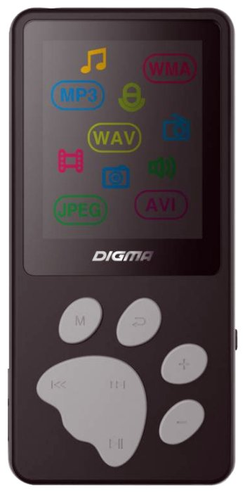 Плеер Digma S3 - 4Gb Black-Grey