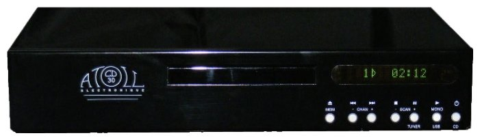Atoll CD 30 Black