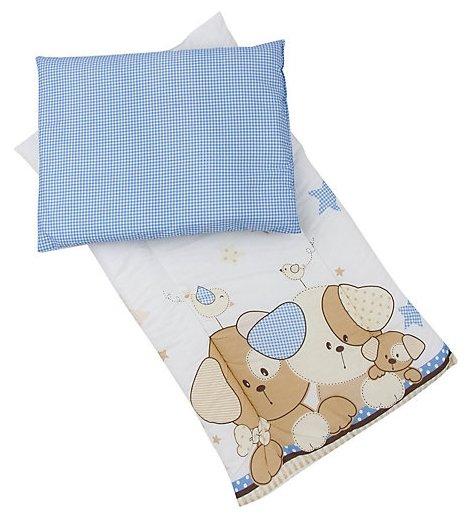 Комплект для люльки Leader Kids Матрасик + подушка