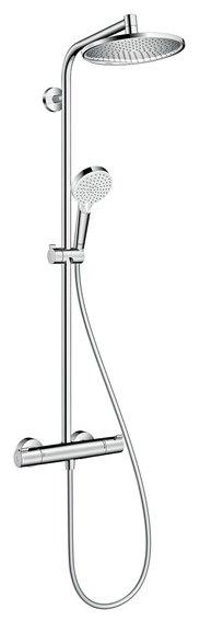 Душевая стойка hansgrohe Crometta S 240 1jet Showerpipe 27267000 хром