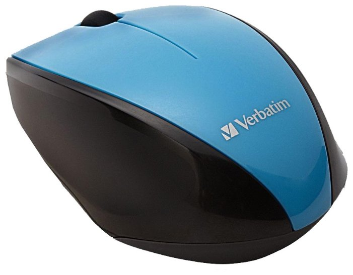 Мышь Verbatim Wireless Multi-Trac Blue LED Optical Mouse Blue USB