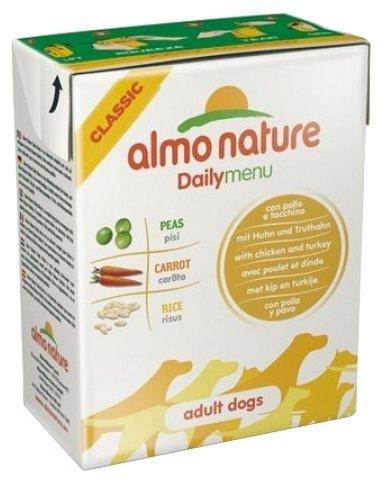 Корм для собак Almo Nature Daily Menu курица, индейка 375г