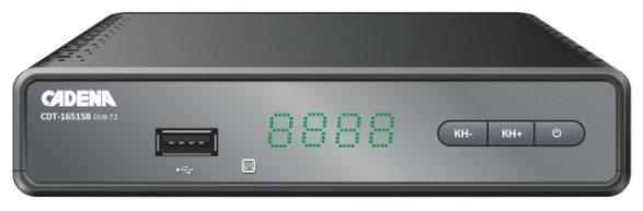 Cadena TV-тюнер Cadena CDT-1651SB