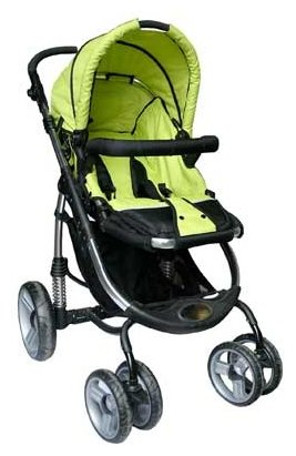Прогулочная коляска Lucky Baby Twist