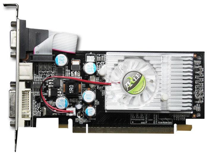 Axle GeForce 8400 GS 460Mhz PCI-E 512Mb 800Mhz 64 bit DVI TV HDCP YPrPb