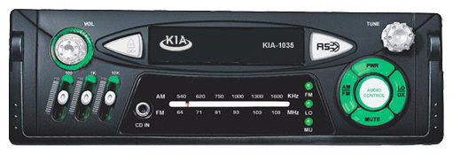 Автомагнитола Kia KIA-1035