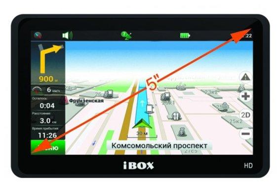 iBOX Навигатор iBOX PRO-5500 HD