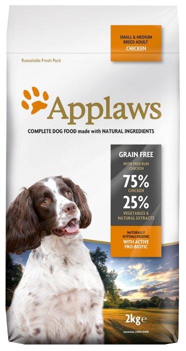 Корм для собак Applaws курица 2 кг