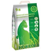 Наполнитель Homecat Древесный (9 л)