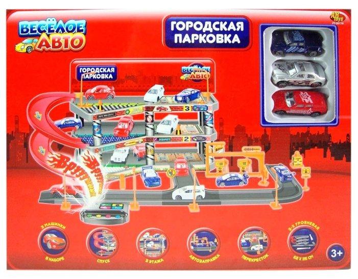 ABtoys Веселое Авто: 3-х уровневая городская парковка PT-00170