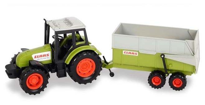 Игрушка DICKIE 3736004 Трактор с прицепом