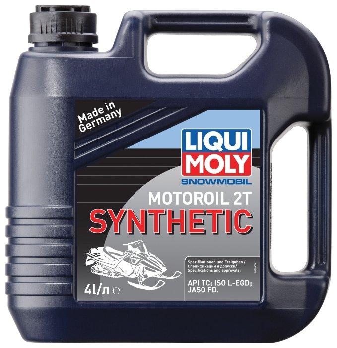 Моторное масло LIQUI MOLY Snowmobil Motoroil 2T Synthetic 4 л