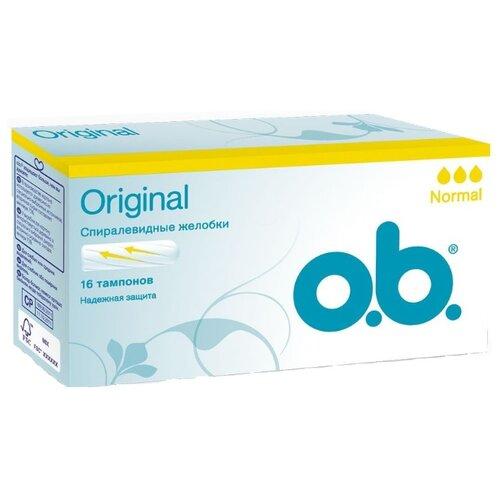 O.b. тампоны Original Normal 16 шт.Прокладки и тампоны<br>
