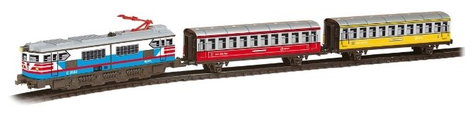 "PEQUETREN Стартовый набор ""Passengers Train Colors"", серия Classic, 202"
