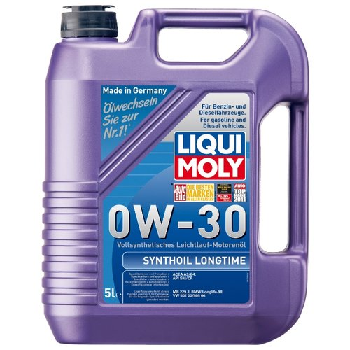Моторное масло LIQUI MOLY Synthoil Longtime 0W-30 5 л