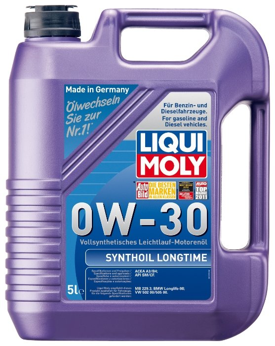 LIQUI MOLY Synthoil Longtime 0W-30 5 л