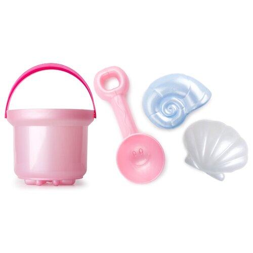 Набор Росигрушка Ракушка 4054 розовый/голубой/белый набор jin jia tai 870 розовый голубой белый