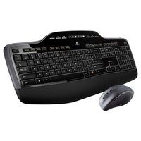 Клавиатура и мышь Logitech Wireless Desktop MK710 Black-Silver USB
