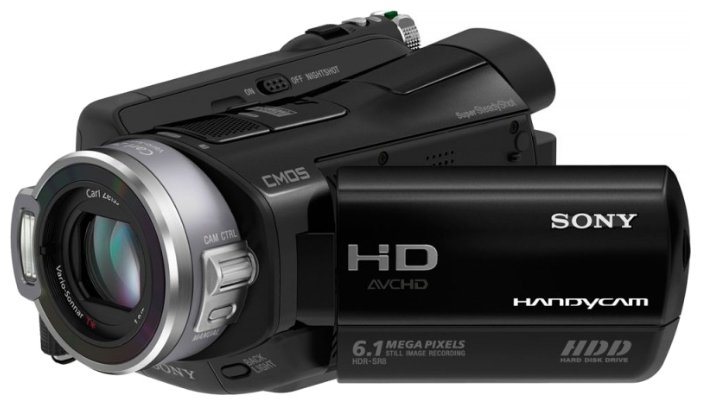 Сравнение с Sony HDR-SR7E
