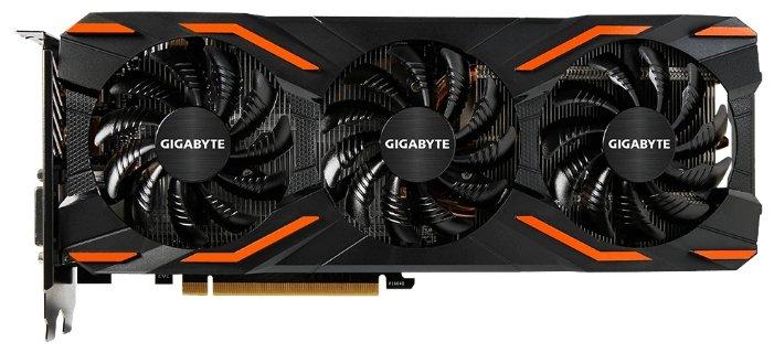 GIGABYTE Видеокарта GIGABYTE GeForce GTX 1080 1657MHz PCI-E 3.0 8192MB 10010MHz 256 bit DVI HDMI HDCP