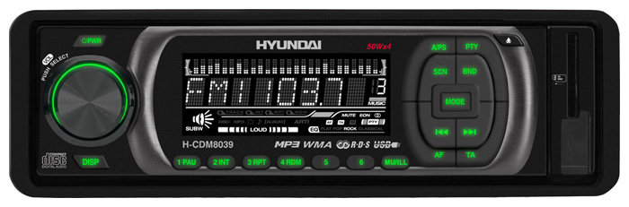 Автомагнитола Hyundai H-CDM8039