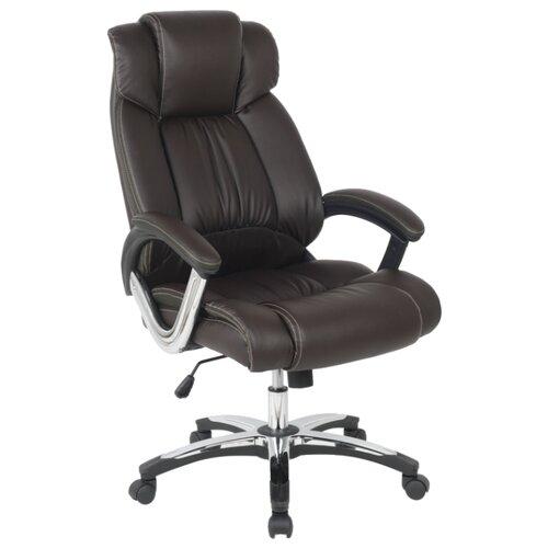 цена Компьютерное кресло College H-8766L-1, обивка: искусственная кожа, цвет: черный онлайн в 2017 году