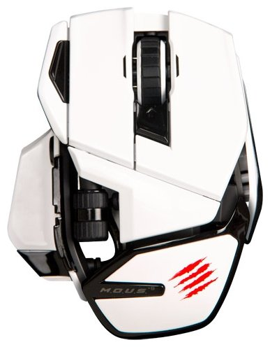 Мышь Mad Catz M.O.U.S.9 White USB
