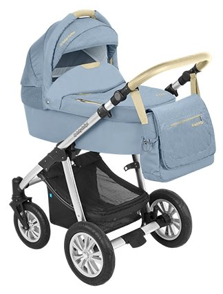 Универсальная коляска Baby Design Dotty Denim (2 в 1)