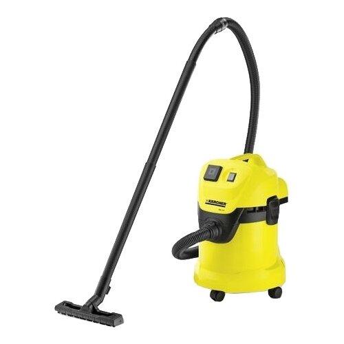 Профессиональный пылесос KARCHER WD 3 P 1000 Вт желтый