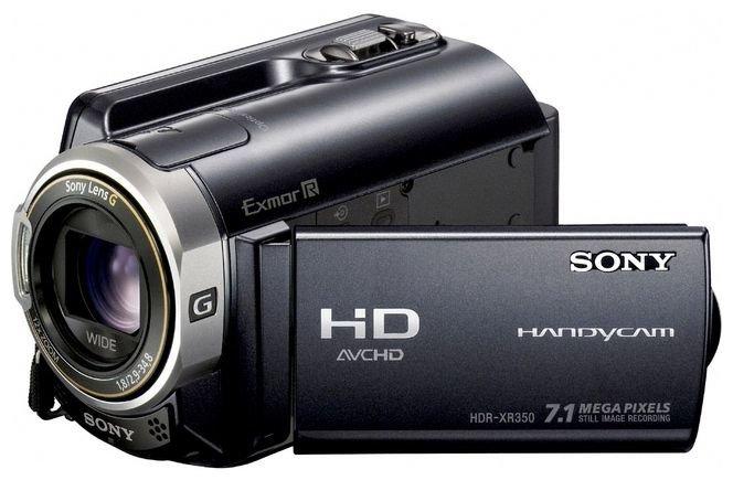 Сравнение с Sony HDR-XR350E