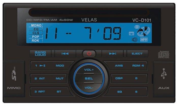 Автомагнитола Velas VC-D101