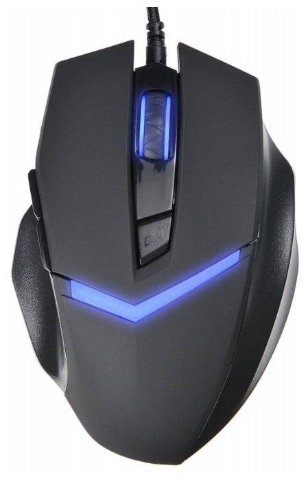 Мышь Oklick 825G Black/Blue (359379)